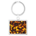 Hot Lava Landscape Keychain