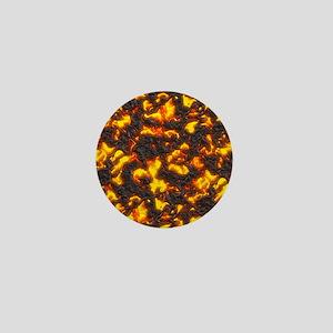 Hot Lava Mini Button