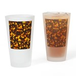 Hot Lava Drinking Glass