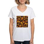 Hot Lava Women's V-Neck T-Shirt