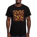 Hot Lava Men's Fitted T-Shirt (dark)