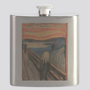 scream shirt Flask