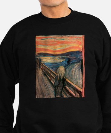 scream shirt Sweatshirt