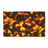 Hot lava 3x5 Rugs