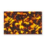 Hot Lava Car Magnet 20 x 12