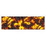 Hot Lava Sticker (Bumper 10 pk)