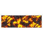 Hot Lava Sticker (Bumper)