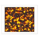 Hot Lava Small Poster