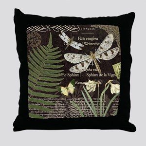 Heather Myers 017a NATURAL LIFE dragonflies dark T