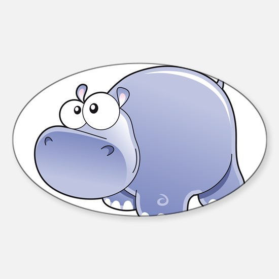 Happy Hippo Decal