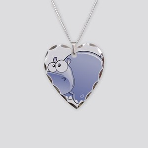 Happy Hippo Necklace