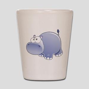 Happy Hippo Shot Glass