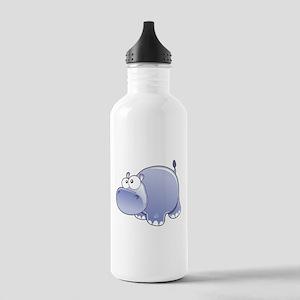 Happy Hippo Water Bottle