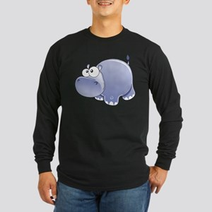 Happy Hippo Long Sleeve T-Shirt