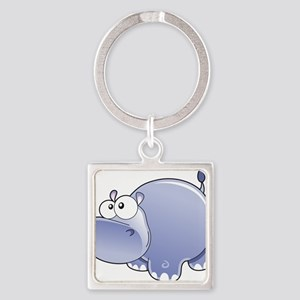 Happy Hippo Keychains