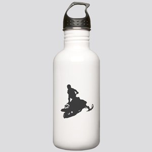 Snowmobile - Snowmobiling Stainless Water Bottle 1