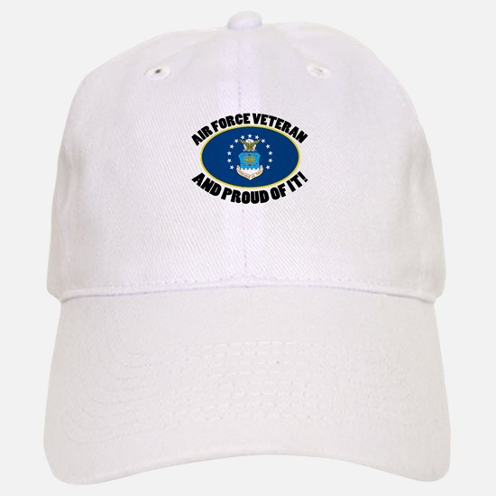 Proud Air Force Veteran Baseball Baseball Cap