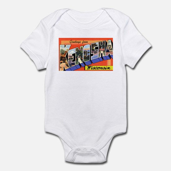 Kenosha Wisconsin Greetings Infant Bodysuit