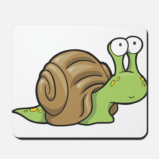 Spotted Snail Mousepad
