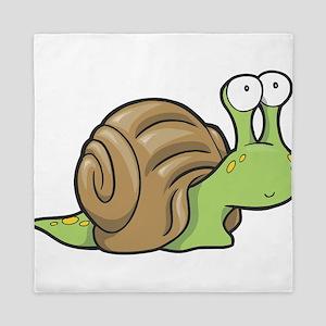 Spotted Snail Queen Duvet