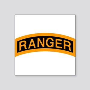 Ranger Tab Rectangle Sticker