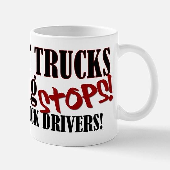 Trucker Support Mug