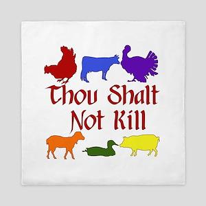 Thou Shalt Not Kill Queen Duvet