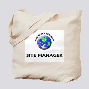 World's Sexiest Site Manager Tote Bag