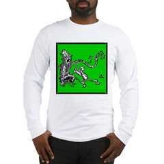 Attacked by the Fighting Tree Long Sleeve T-Shirt