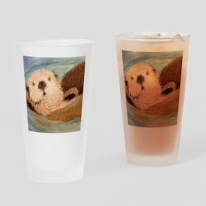 Sea Otter--Endangered Species Drinking Glass