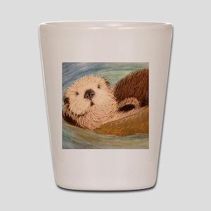 Sea Otter--Endangered Species Shot Glass