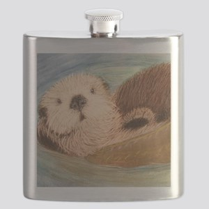 Sea Otter--Endangered Species Flask