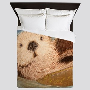 Sea Otter--Endangered Species Queen Duvet