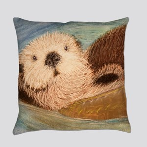 Sea Otter--Endangered Species Everyday Pillow