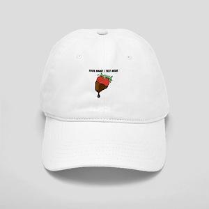 Personalized Chocolate Covered Strawberry Baseball