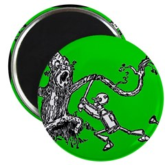 Attacked by the Fighting Tree Magnet