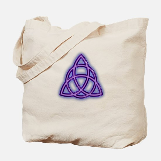 Charmed Triquetra Trinity Symbol (sc) Tote Bag