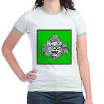 Cowardly Lion 1 Jr. Ringer T-Shirt