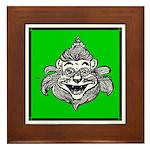 Cowardly Lion 1 Framed Tile