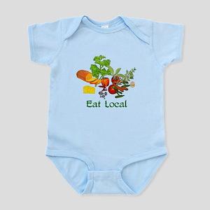 Eat Local Grown Produce Infant Bodysuit