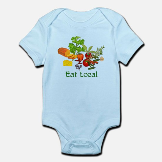 Eat Local Grown Produce Infant Bodysuit