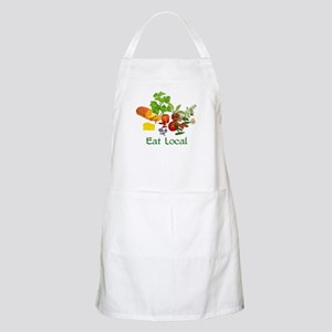 Eat Local Grown Produce Apron