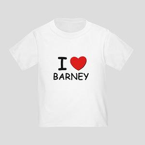 I love Barney Toddler T-Shirt