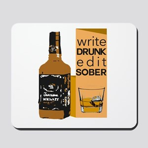Edit Sober Mousepad