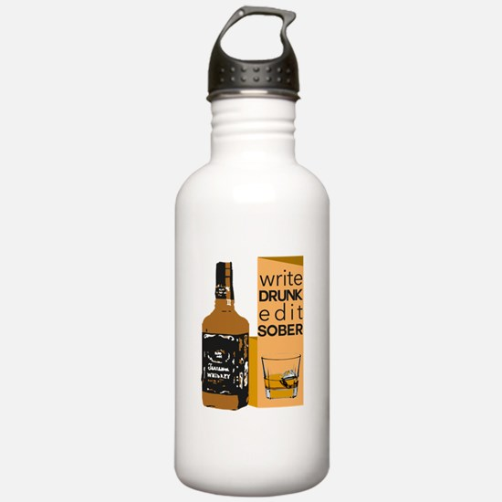 Edit Sober Water Bottle