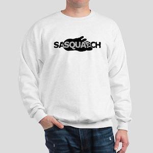 Sasquatch Footprint Sweatshirt