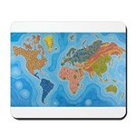 The Map of Health Mousepad