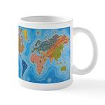 The Map of Health Small Mug