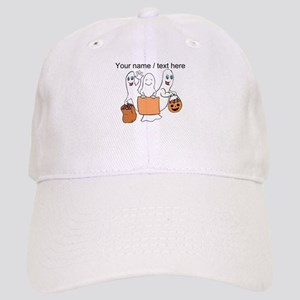 Personalized Trick Or Treating Ghosts Baseball Cap