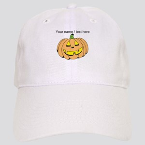 Personalized Jack-O-Lantern Baseball Cap